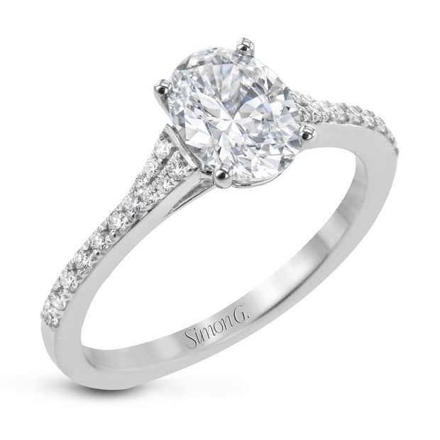 Simon G. Engagement Ring LR2507-OV