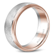 Bleu Royale Wedding Band RYL-007WR75