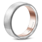 Bleu Royale Wedding Band RYL-010WR75