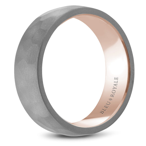 Bleu Royale Wedding Band RYL-122TR7