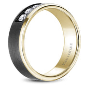 Bleu Royale Wedding Band RYL-166TYD75