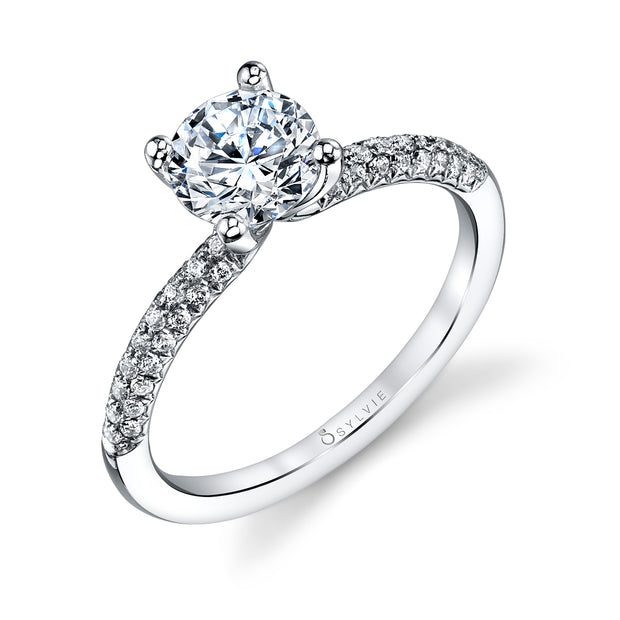Sylvie Engagement Ring Daphne S1147