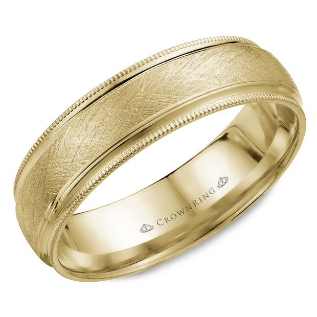 CrownRing Wedding Band WB-7915