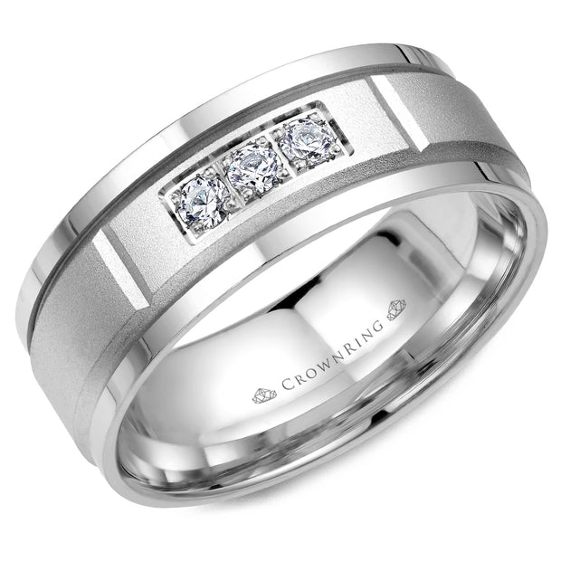 CrownRing Wedding Band WB-8200
