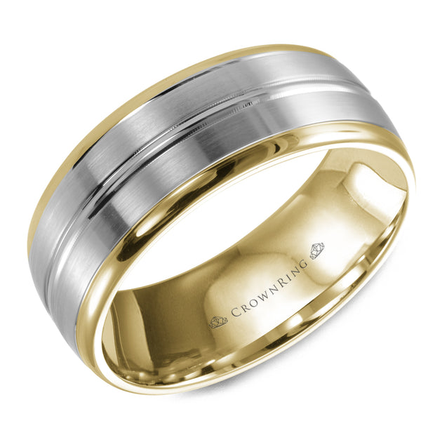 CrownRing Wedding Band WB-9093