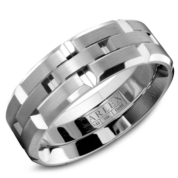 Carlex Wedding Band  WB-9146-S