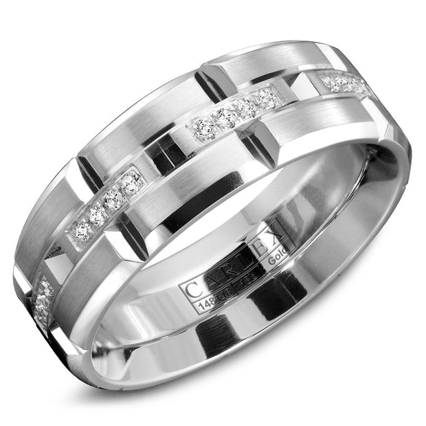 Carlex Wedding Band  WB-9320-S