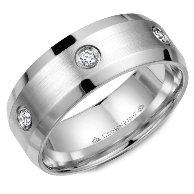 CrownRing Wedding Band WB-9616