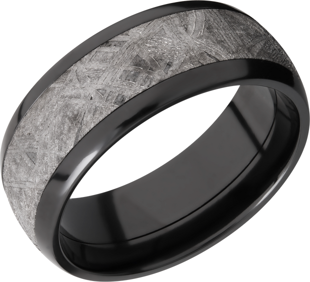Lashbrook Wedding Band Z8D15Meteorite
