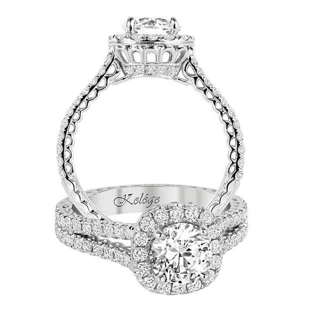 Jack Kelege Engagement Ring Imperial Silhouette Collection