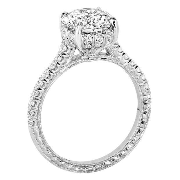 Jack Kelege Engagement Ring Flora Collection