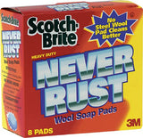 3M Never Rust Soap Pads - SEMCO