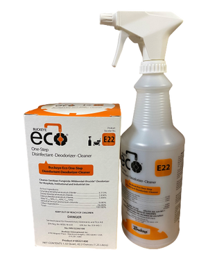 One-Step Disinfectant-Deodorizer-Cleaner E22