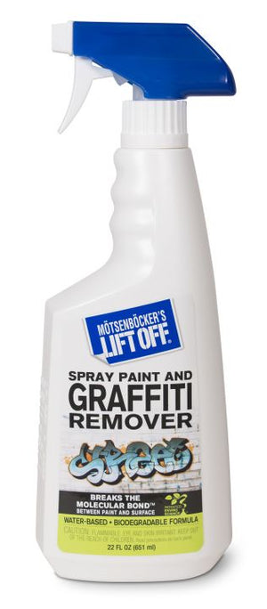 Spray Paint Graffiti Remover