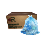 26 x 36 Blue Recycle Plastic Bags - SEMCO