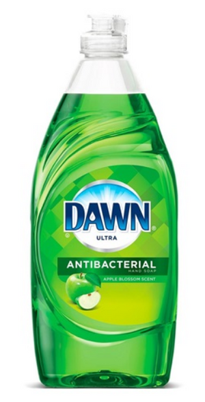 Dawn Ultra Antibacterial Hand Soap & Dishwashing Liquid