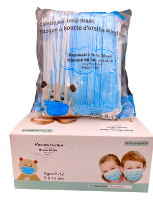 Disposable Face Masks for Kids