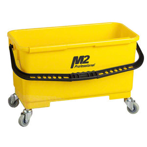 M2 Professional Window Bucket with Caddy & Wheels - SEMCO