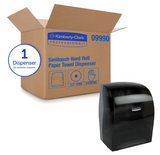 Sanitouch Hard Roll Paper Towel Dispenser - SEMCO