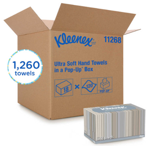 Kleenex® Ultra Soft Pop-up Towels