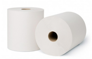 MERFIN White Roll Towel - SEMCO