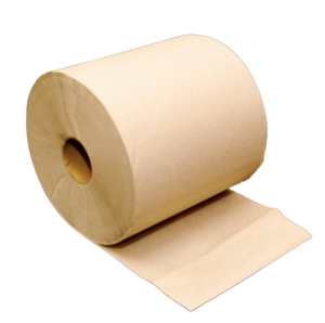 Natural Hardwound Roll Towel - SEMCO