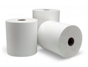 High Performance White Roll Towel