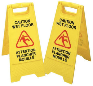 Caution Wet Floor Safety Sign - SEMCO