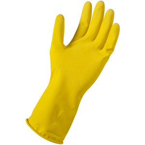 Yellow Reusable Rubber Glove