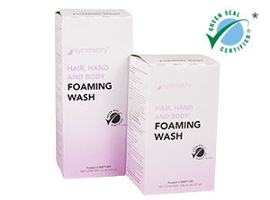 Symmetry Hair, Hand & Body Foaming Wash