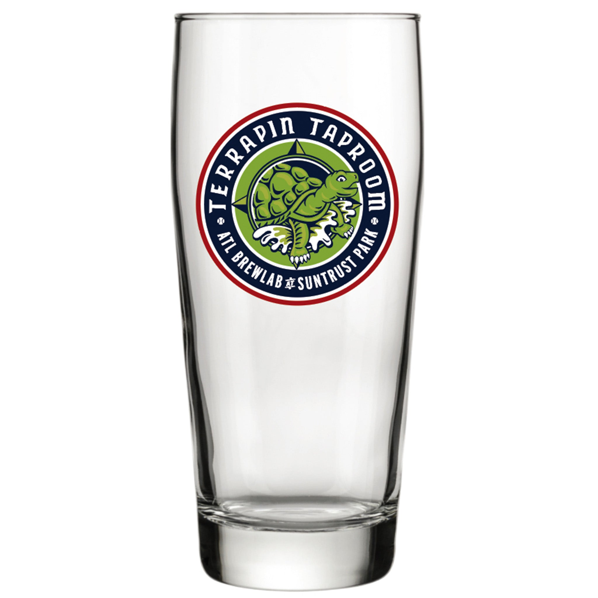 16oz ATL Brew Lab Willi Becher Glass