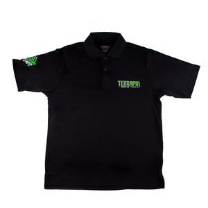 Black Dri Fit Polo