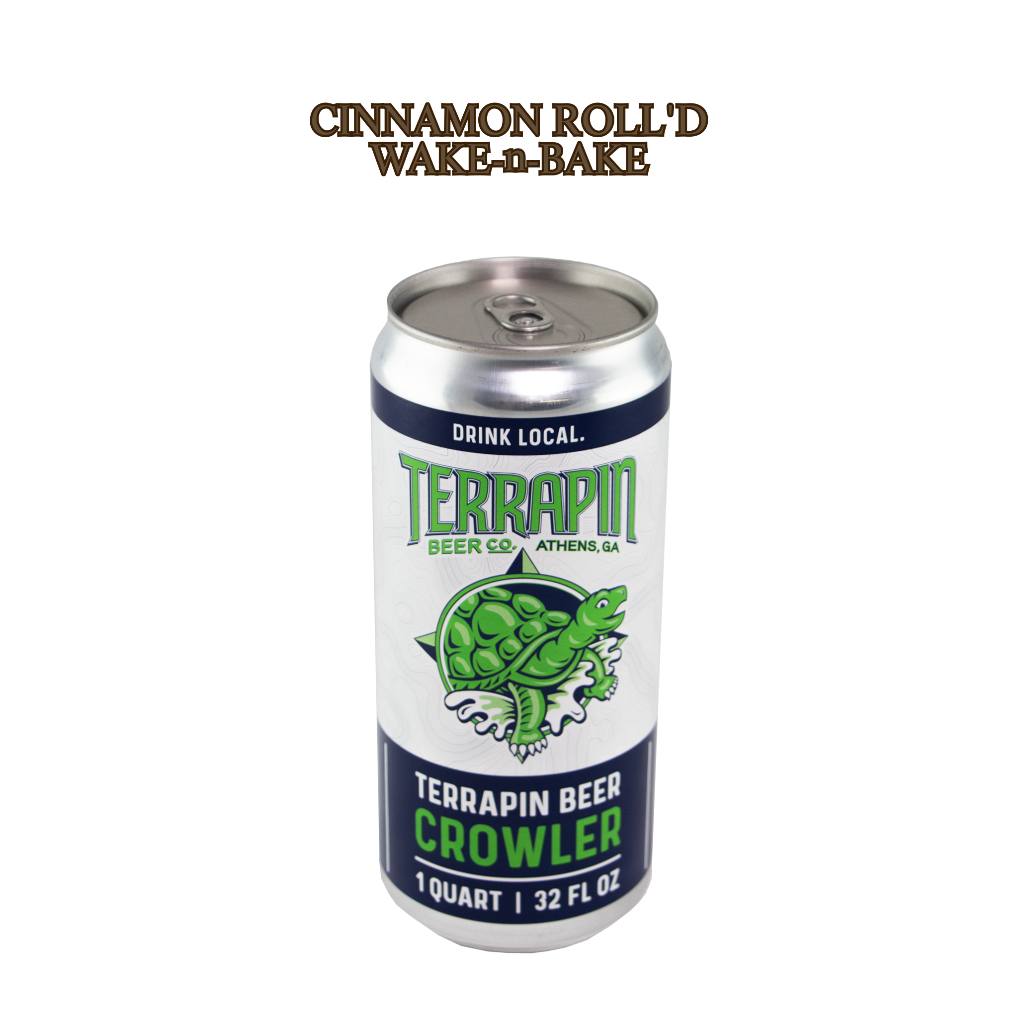 CINNAMON ROLL'D WAKE-N-BAKE- 32OZ CROWLER
