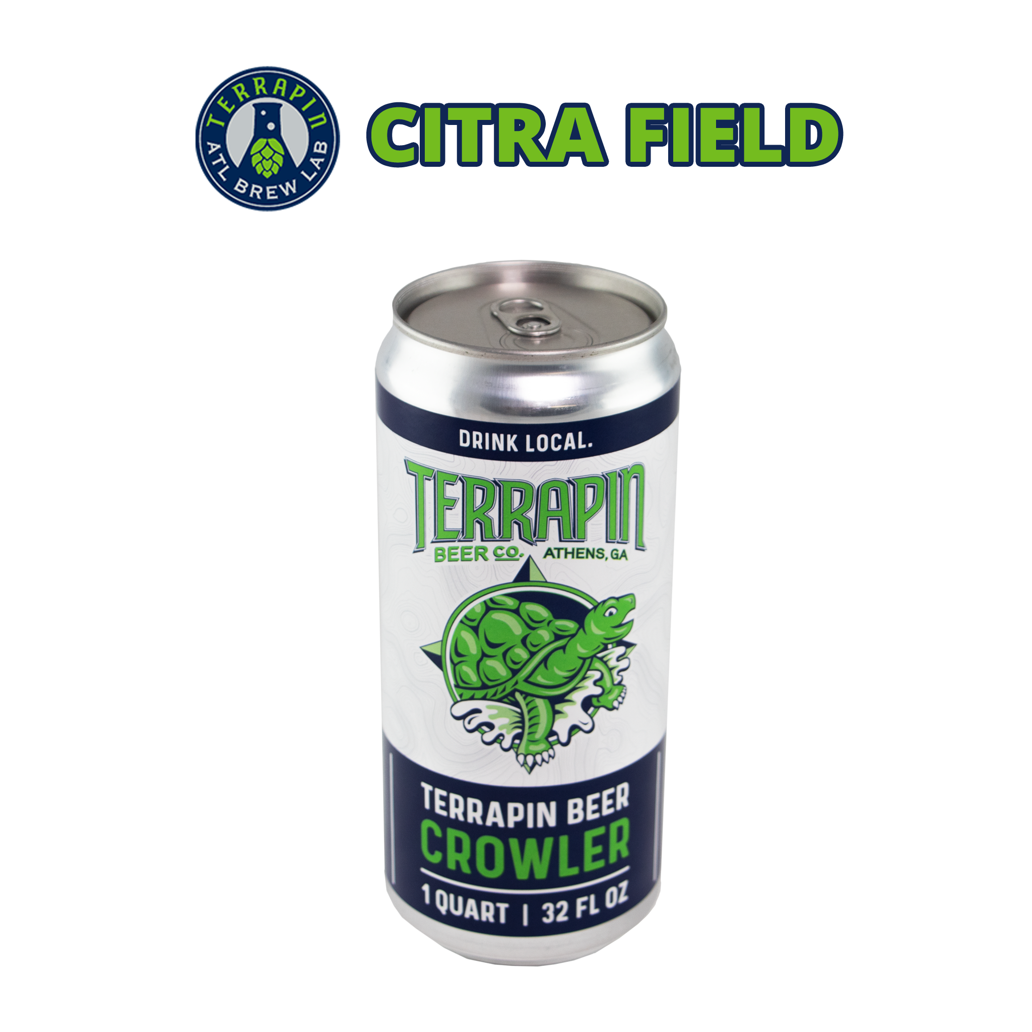 CITRA FIELD PALE ALE-32 OZ CROWLER