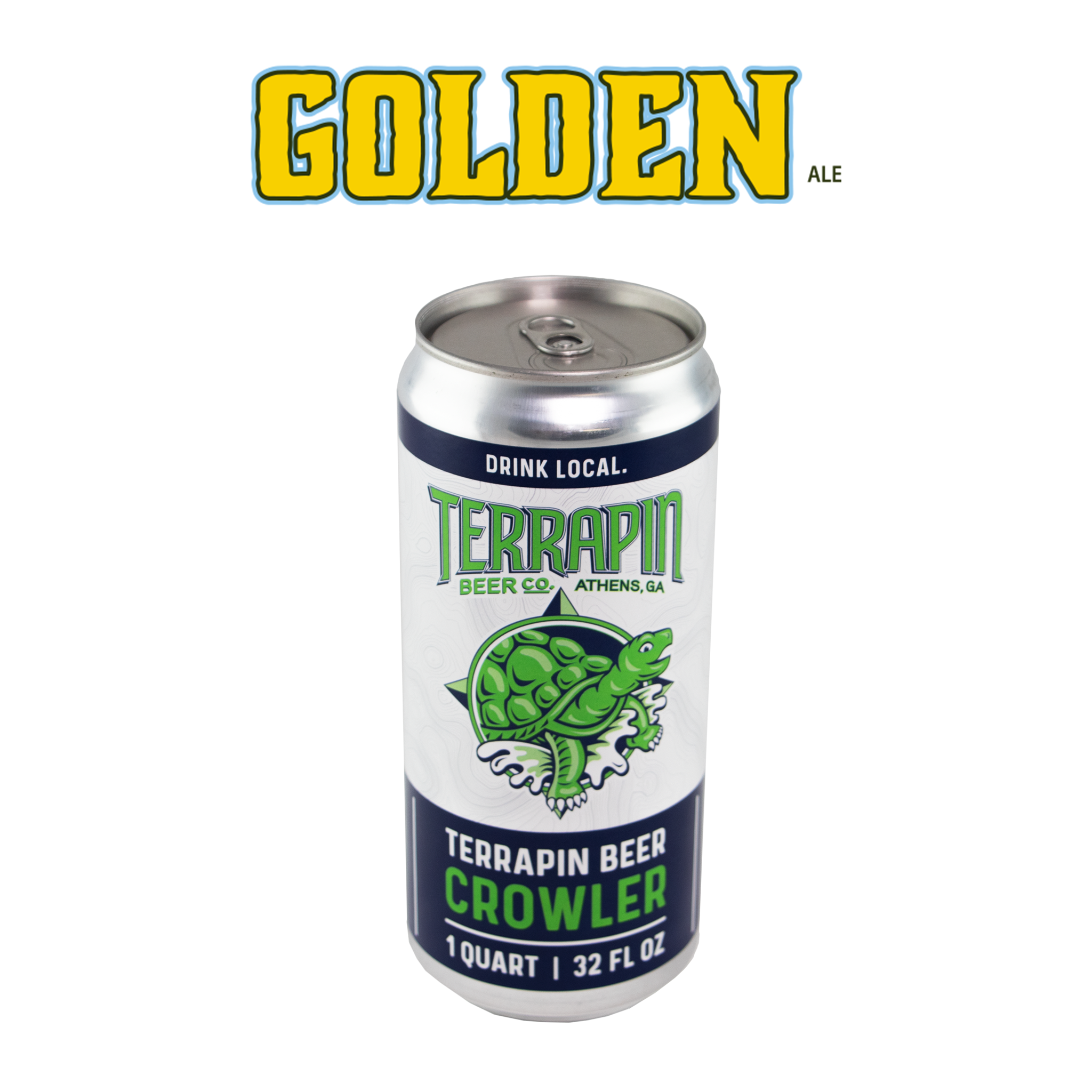 GOLDEN ALE- 32 OZ CROWLER