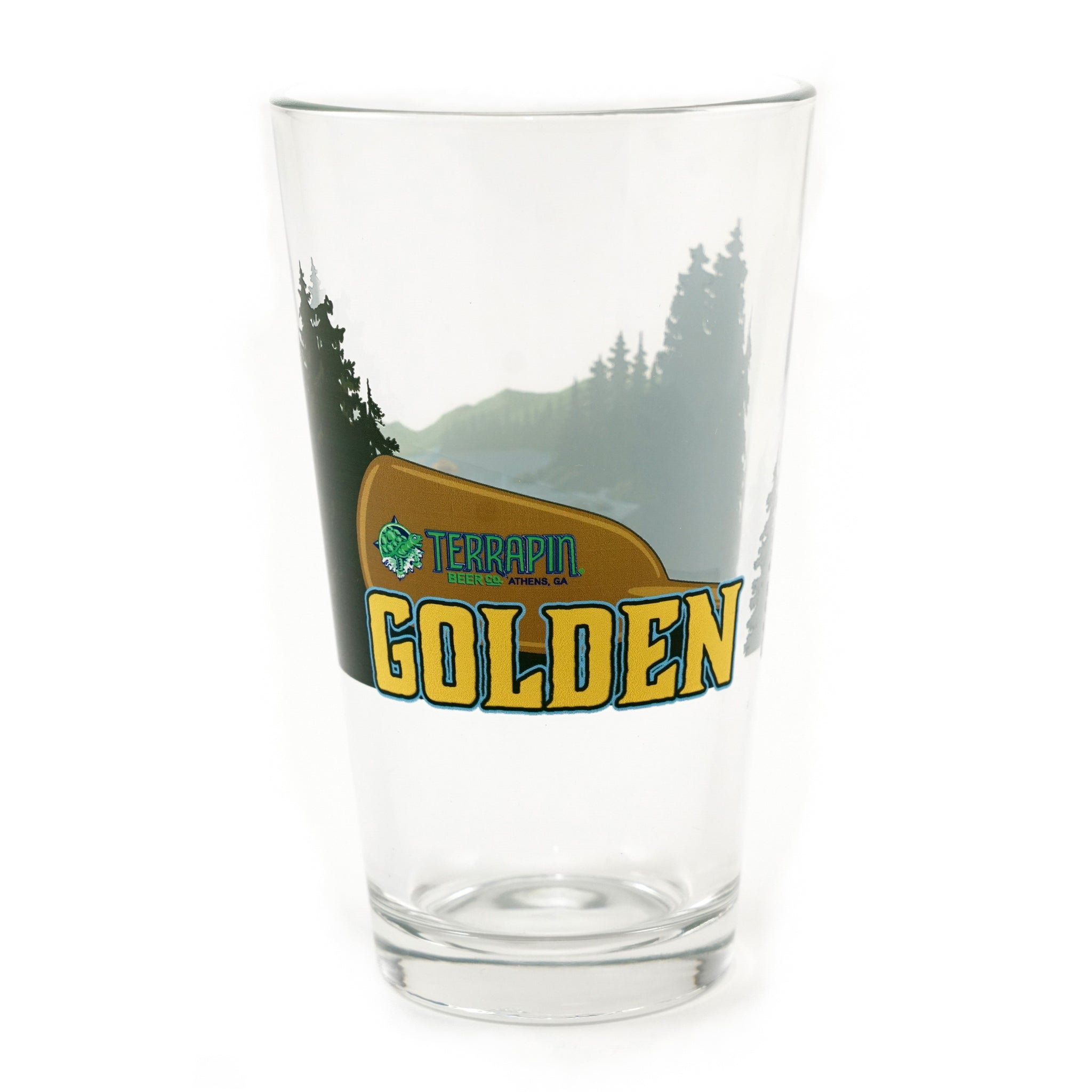 Golden Full Wrap Glass