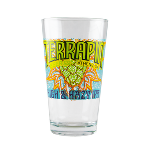 High & Hazy Pint Glass