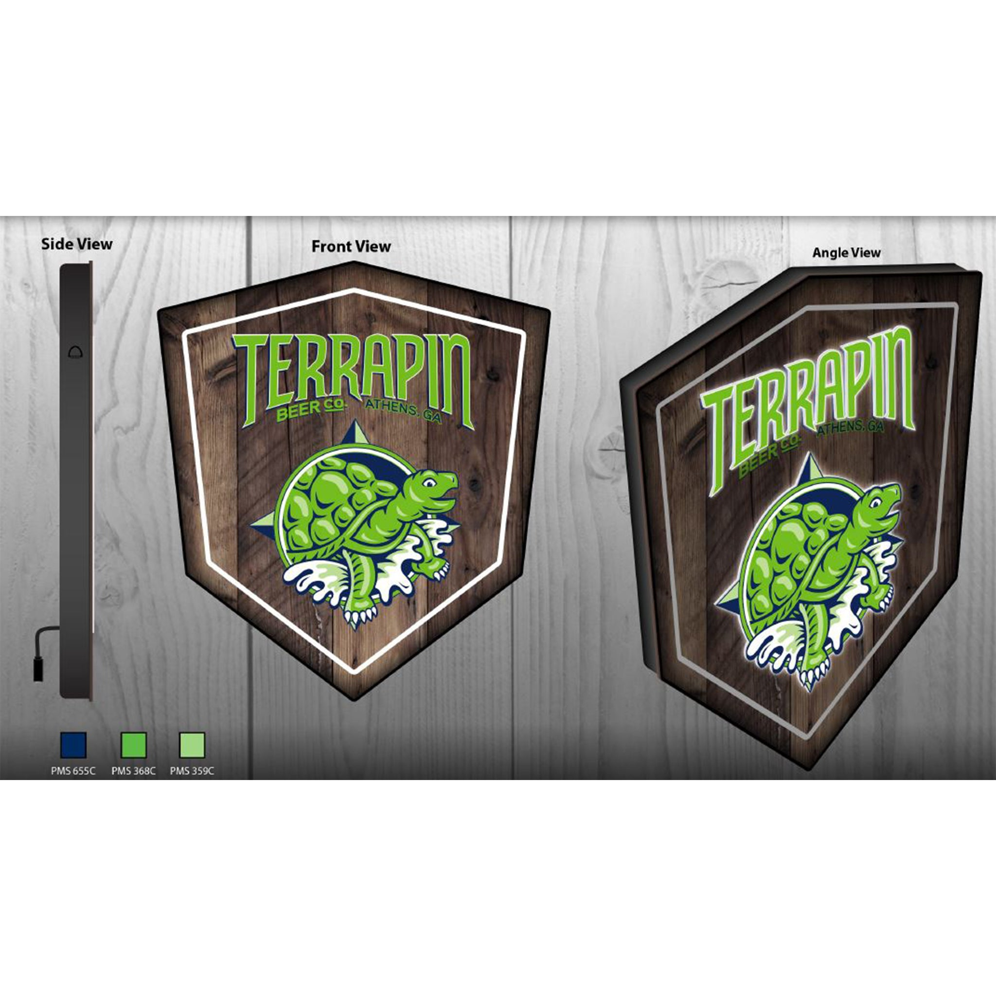Terrapin LED Sign
