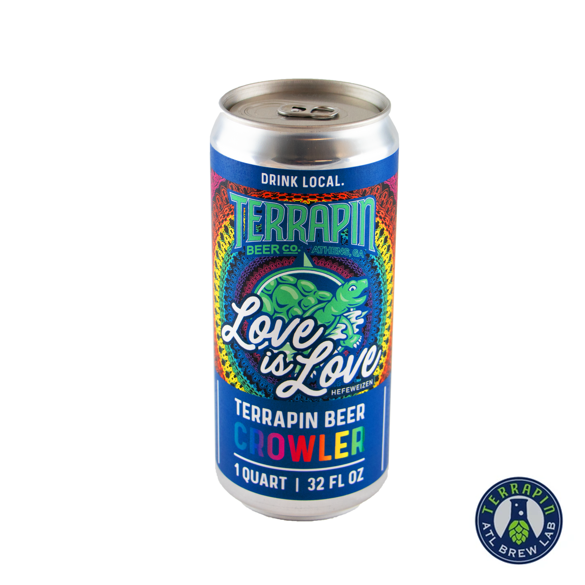LOVE IS LOVE HEFEWEIZEN- ATL BREW LAB 32oz CROWLER
