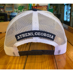 Navy Terrapin Trucker Hat