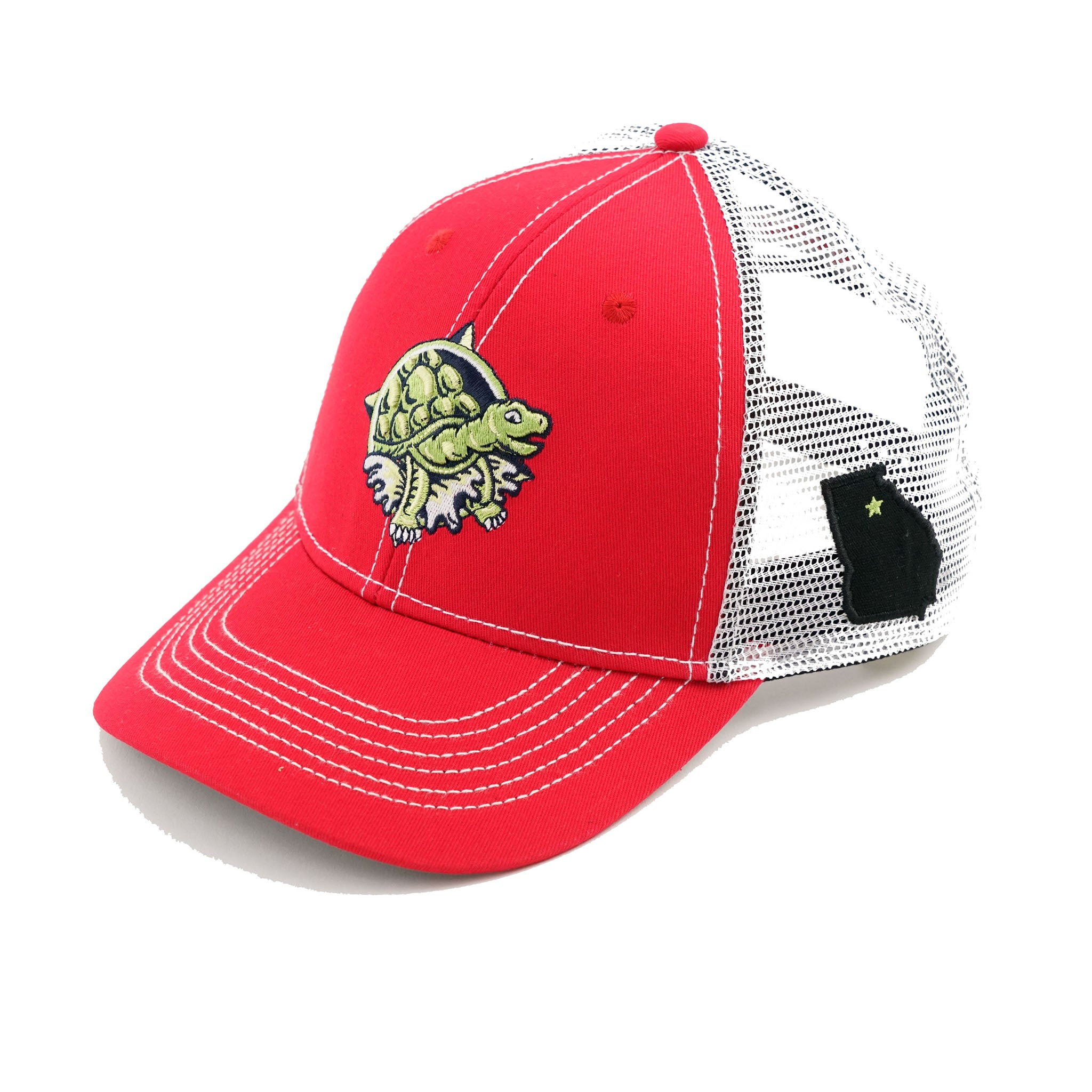 Red Terrapin Trucker Hat