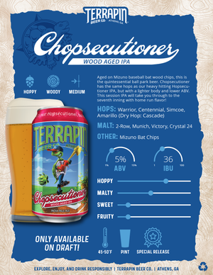 CHOPSECUTIONER- 32OZ CROWLER
