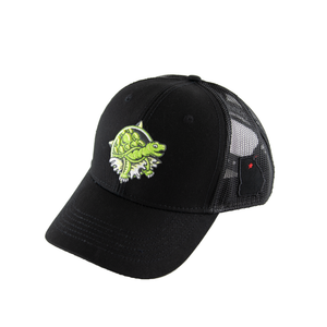 Black Terrapin Trucker Hat