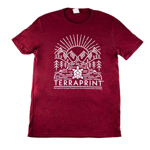 Terraprint T-shirt benefiting Giving Kitchen