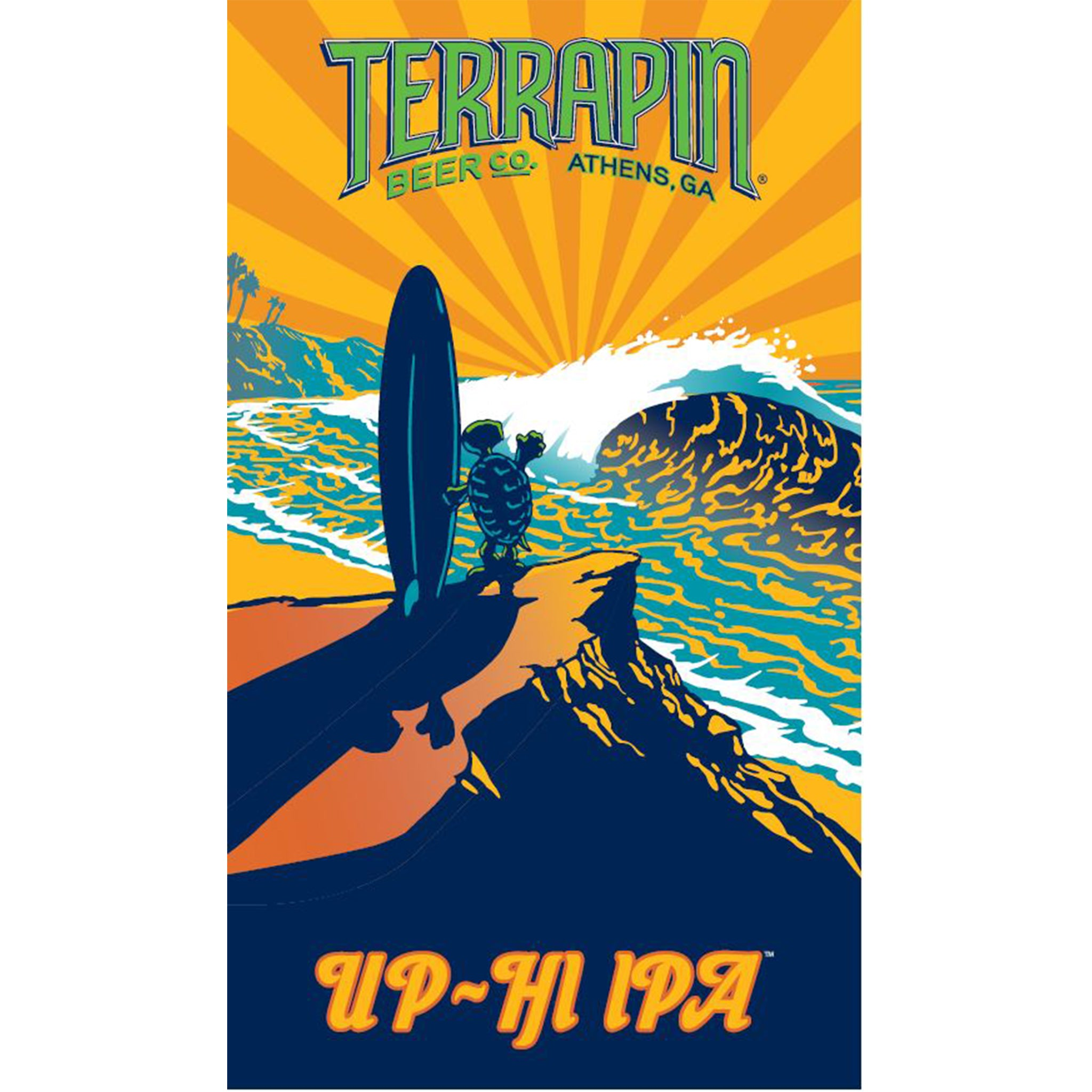 Up-Hi Beach Towel