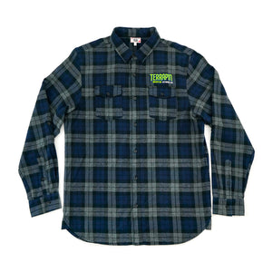Embroidered Flannel Shirt
