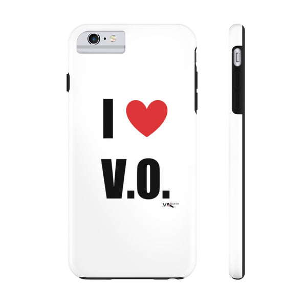 I LOVE V.O. - Phone Case (by Case Mate)