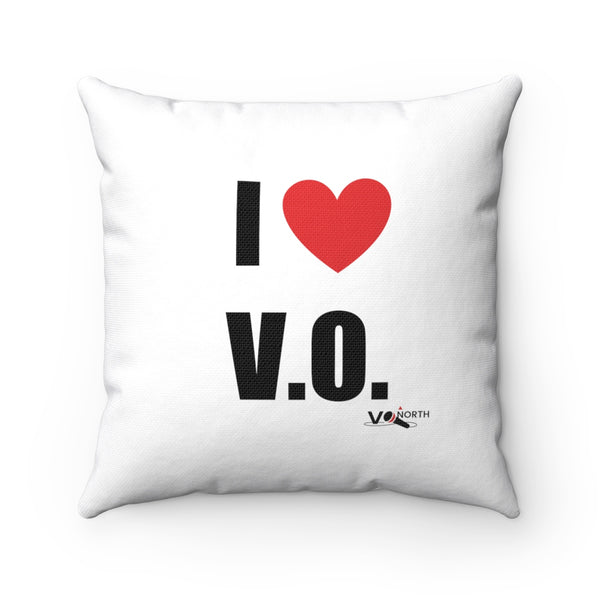 I LOVE V.O. - Square Pillow