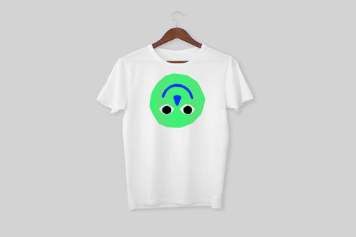 upside down smiley t-shirt