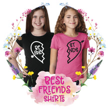 Load image into Gallery viewer, Best Friends Girls Tee Set